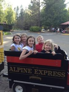 All aboard the choo-choo train!