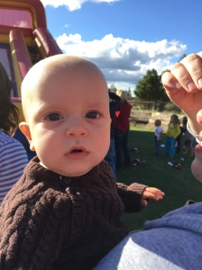 You're never too young to have some fall fun!