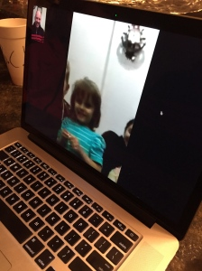 Cassia is a Skype expert!