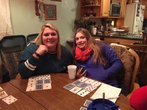 the older girls, Madison and Emma